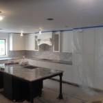 Kitchen Remodel and Reconfiguation in Warren NJ In Progress 8-20-15 (5)