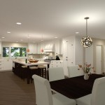 Kitchen Remodel and Reconfiguration in Warren, NJ (1)-Design Build Planners
