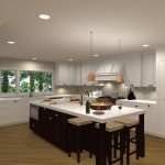 Kitchen Remodel and Reconfiguration in Warren, NJ (3)-Design Build Planners
