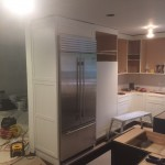 Kitchen Remodel and Reconfiguration in Warren NJ In Progress 8-14-2015 (12)