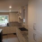 Kitchen Remodel and Reconfiguration in Warren NJ In Progress 9-3-2015 (1)