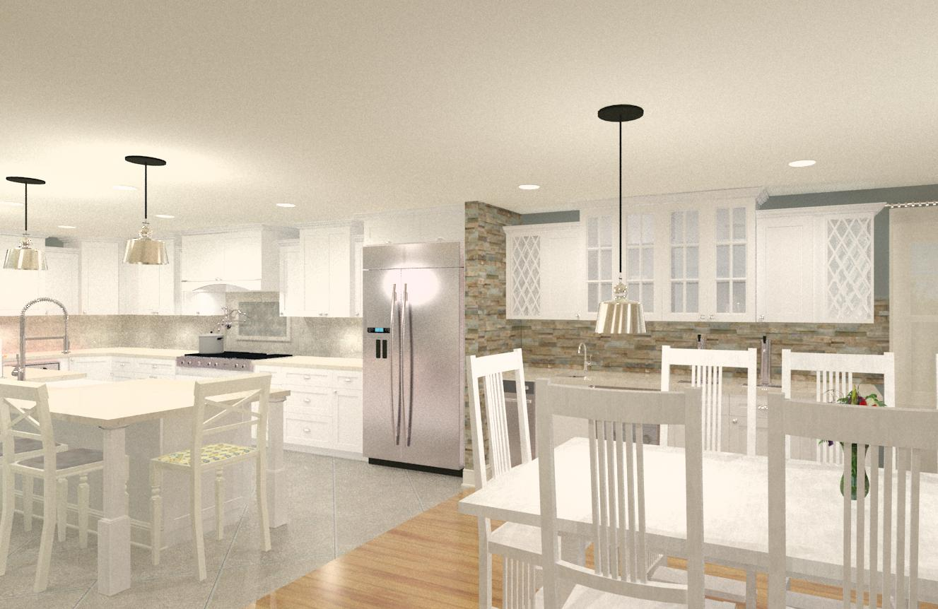Kitchen And Master Bedroom Addition In Spring Lake, NJ