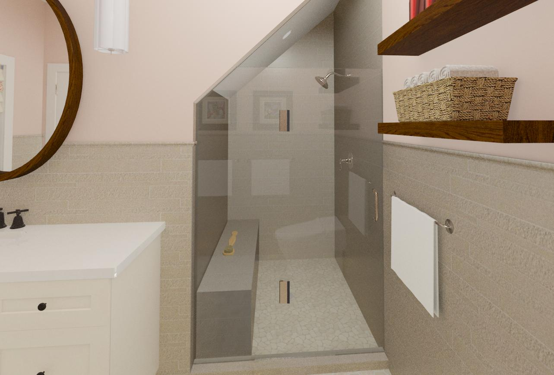 master and hall bathroom designs in warren nj design build pros