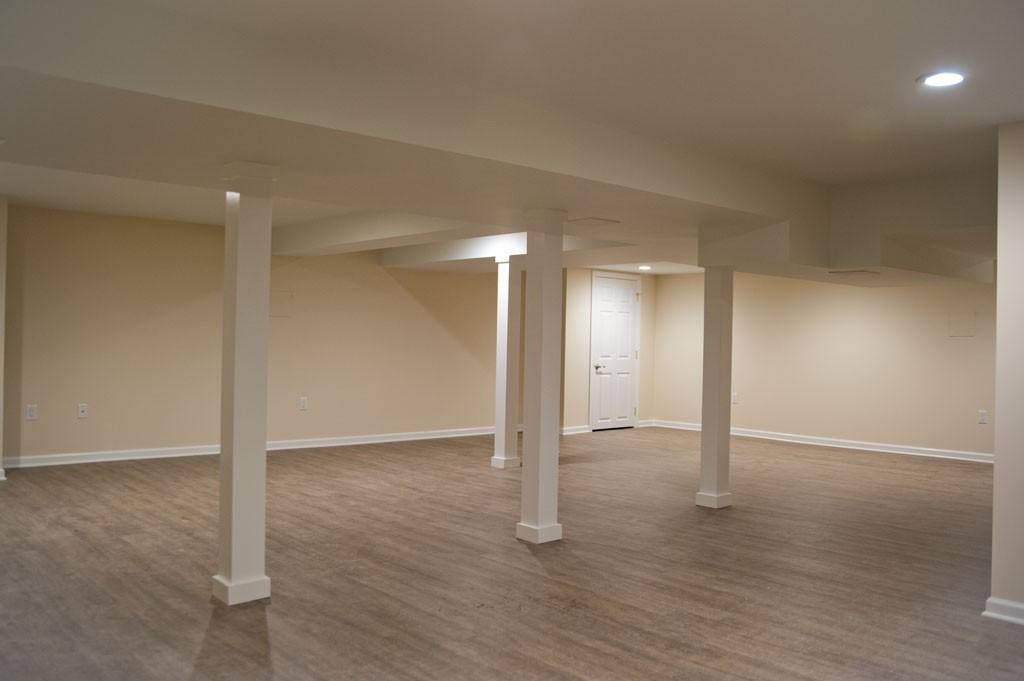 simple basement remodel in plainsboro nj 10