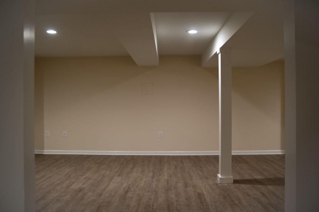 simple basement remodel in plainsboro nj 4