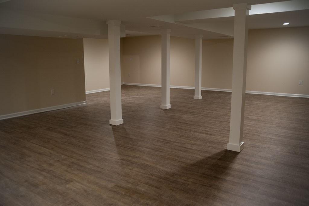 Simple Basement Remodel In Plainsboro Nj