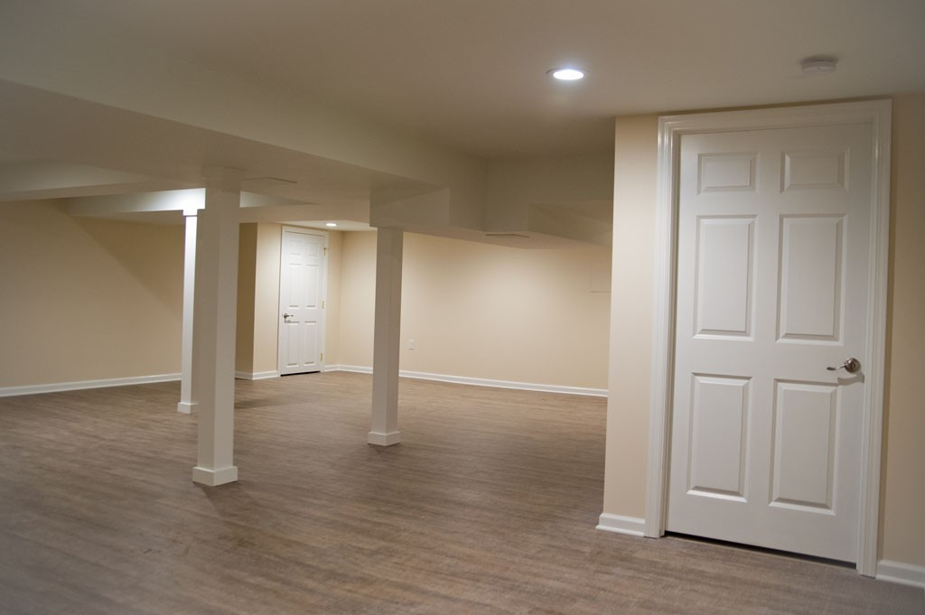 Basement Remodel On A Budget Before After
