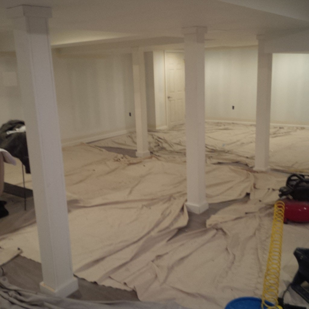 Simple Basement Remodel In Plainsboro, NJ