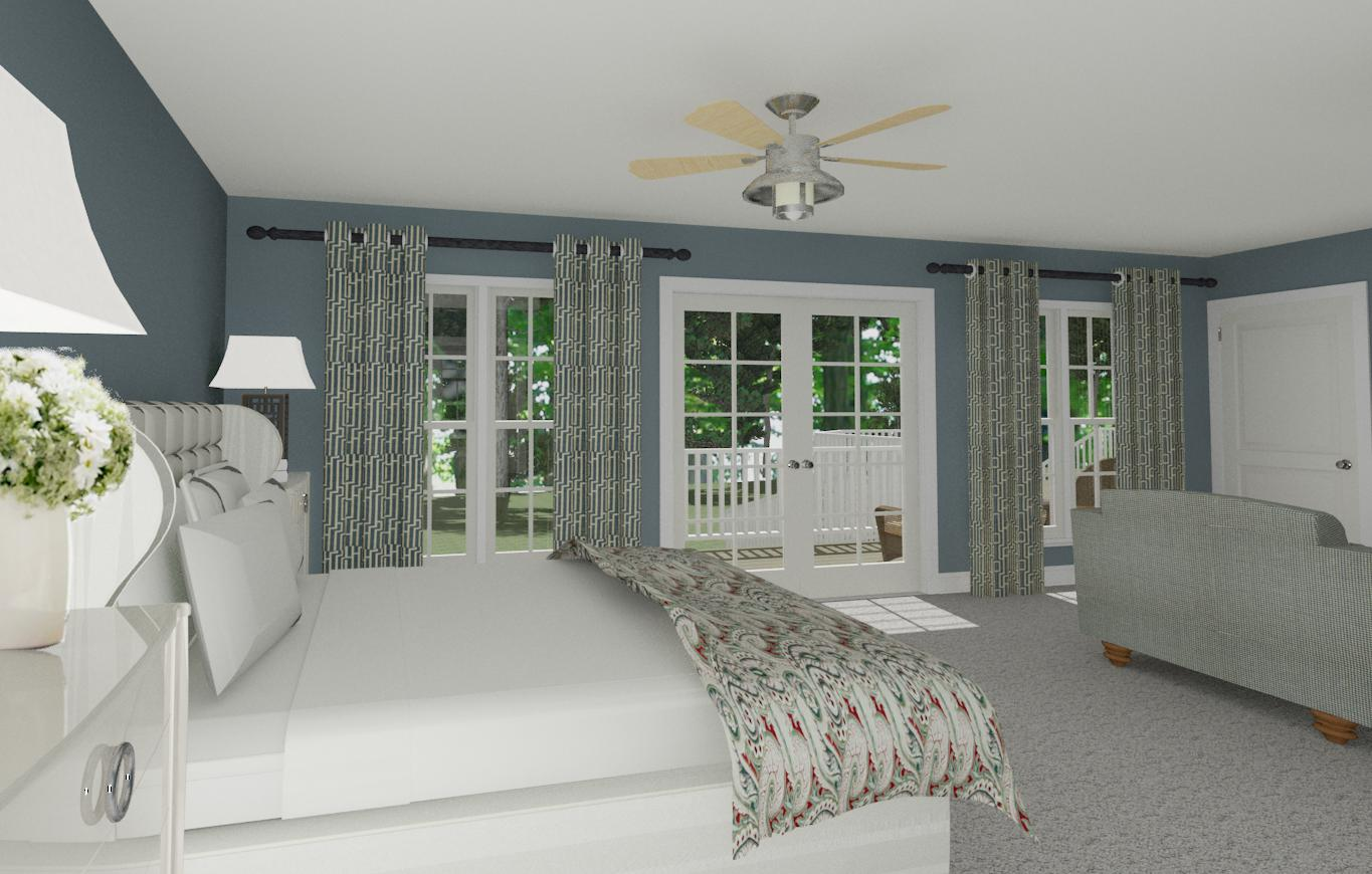 bedroom suite addition in monroe township  new jersey