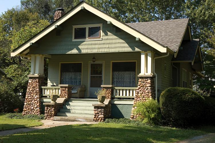 American bungalow style home design build planners - What is a bungalow style home ...