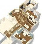 Dollhouse Overview Luxury Basement in Warren NJ Plan 1 (2)