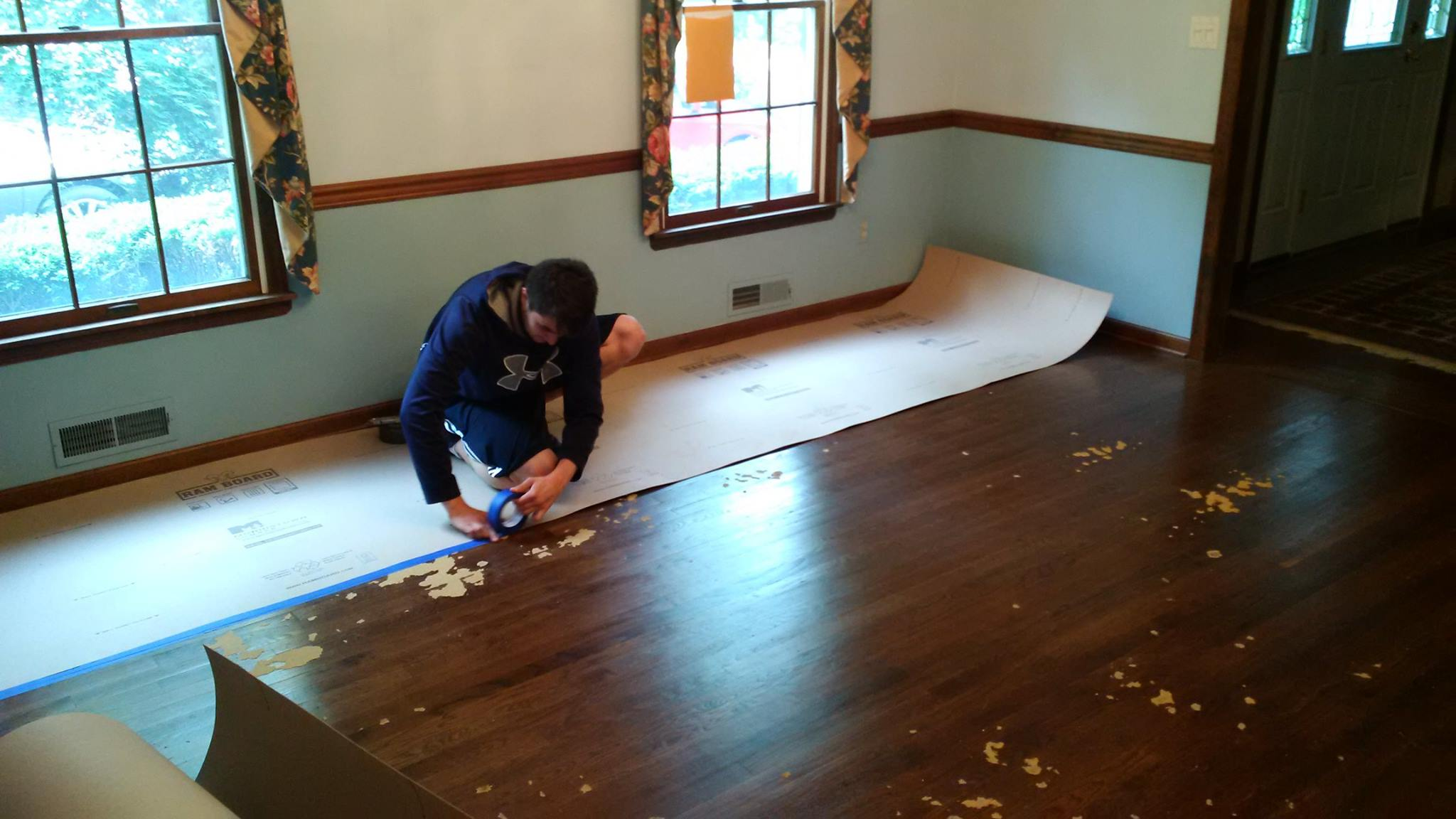 Gorgeous Kitchen Renovation In Potomac Maryland: Dust Protection During Your Remodeling Project