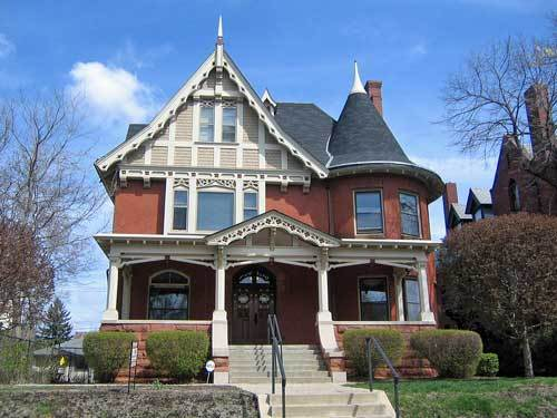 Gothic revival style home design build planners for Gothic revival house plans