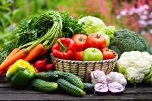 Home grown vegetables from Organic Gurlz Gardens Fort Wayne Indiana
