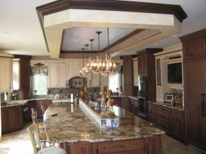 U-shaped kitchen ~ Design Build Pros (3)