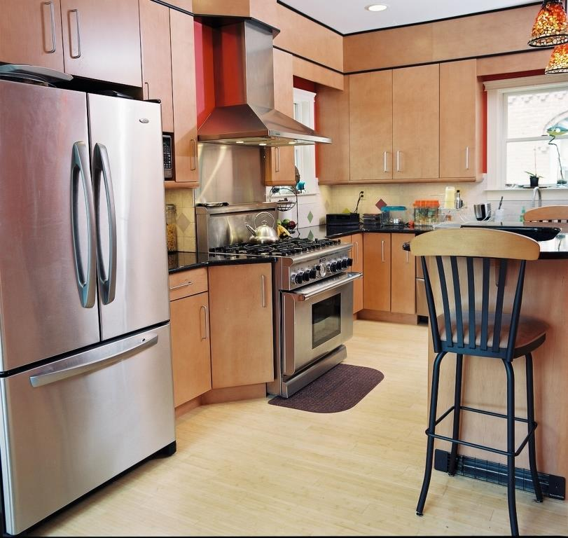 Exotic Kitchen Cabinets: Exotic Wood Veneer Cabinetry