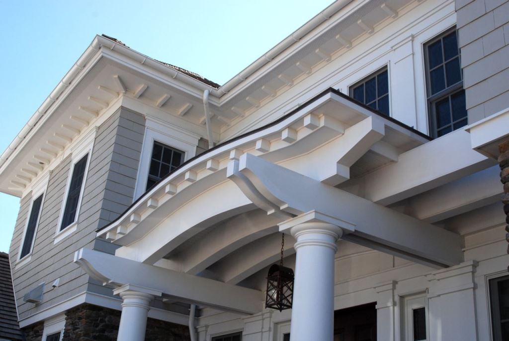 Exterior House Trim And Molding : Exterior molding and trim design build planners