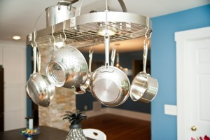 hanging pot rack ~ Design Build Pros (1)
