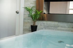 infinity soaking tub for bathroom remodeling ~ Design Build Pros (1)