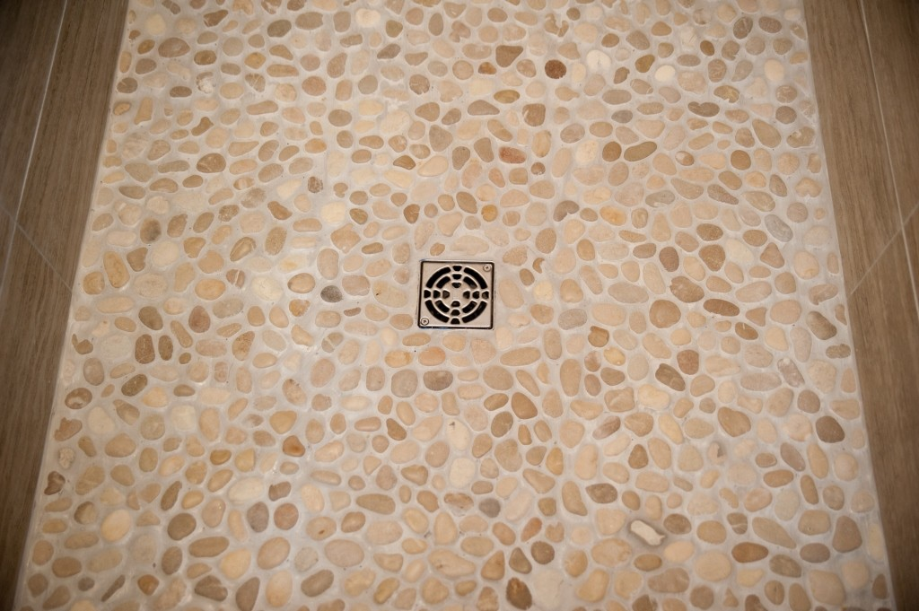 River Rock Pebbles For Your Shower Design Build Planners