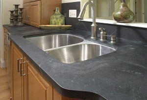 soapstone countertop ~ Design Build Planners