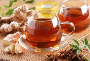 Ginger tea recipe from Organic Gurlz Gardens Fort Wayne Indiana