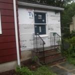 Porch to Bedroom Conversion in New Providence NJ In Progress 7-15-15 (1)
