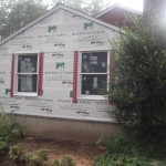Porch to Bedroom Conversion in New Providence NJ In Progress 7-15-15 (3)