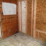 Porch to Bedroom Conversion in New Providence NJ In Progress 7-15-15 (5)