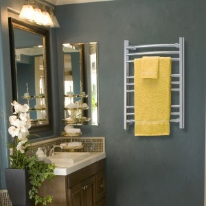 Towel Warmer-Radiant Heating Products by WarmlyYours-a Design Build Planners Trade Partner (2)