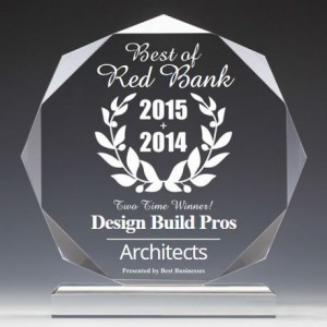 2015 Best of Red Bank NJ architect winner