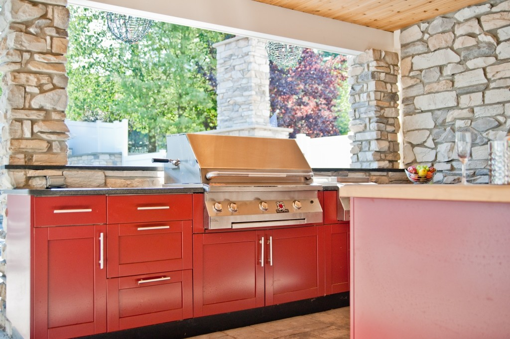Outdoor kitchen in new jersey for Outdoor kitchen designs nj