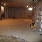 Basement Finishing in Middlesex County NJ In Progress 8-21-2015 (2)