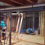 Basement Finishing in Middlesex County NJ In Progress 8-21-2015 (6)