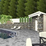 CAD of a Poolhouse (1)-Design Build Planners