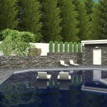 CAD of a Poolhouse (2)-Design Build Planners