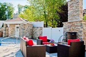 Custom Stone Exterior Fireplace (7)-Design Build Planners