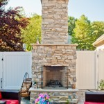 D Custom outdoor fireplace - Design Build Planners (1)