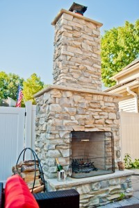 D Custom outdoor fireplace - Design Build Planners (2)