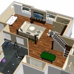 Dollhouse Overview Basement Finishing in Middlesex County, NJ CAD (1)-Design Build Planners