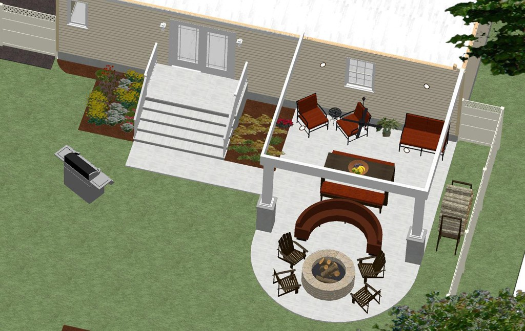 Outdoor Living Space in Union County, NJ - Design Build Pros on autocad 3d design, engineering house design, google sketchup house design, radiant heating installation and design, classic house design, art house design, cnc house design, japanese tea house design, top house design, building structure design, box structure design, technical drawing and design, business house design, fab house design, support structure design, solidworks house design, architecture house design, 2d house design, house structure design, manufacturing house design,