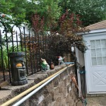 Existing Pool House
