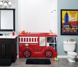 Kid themed bathroom remodeling - Design Build Pros