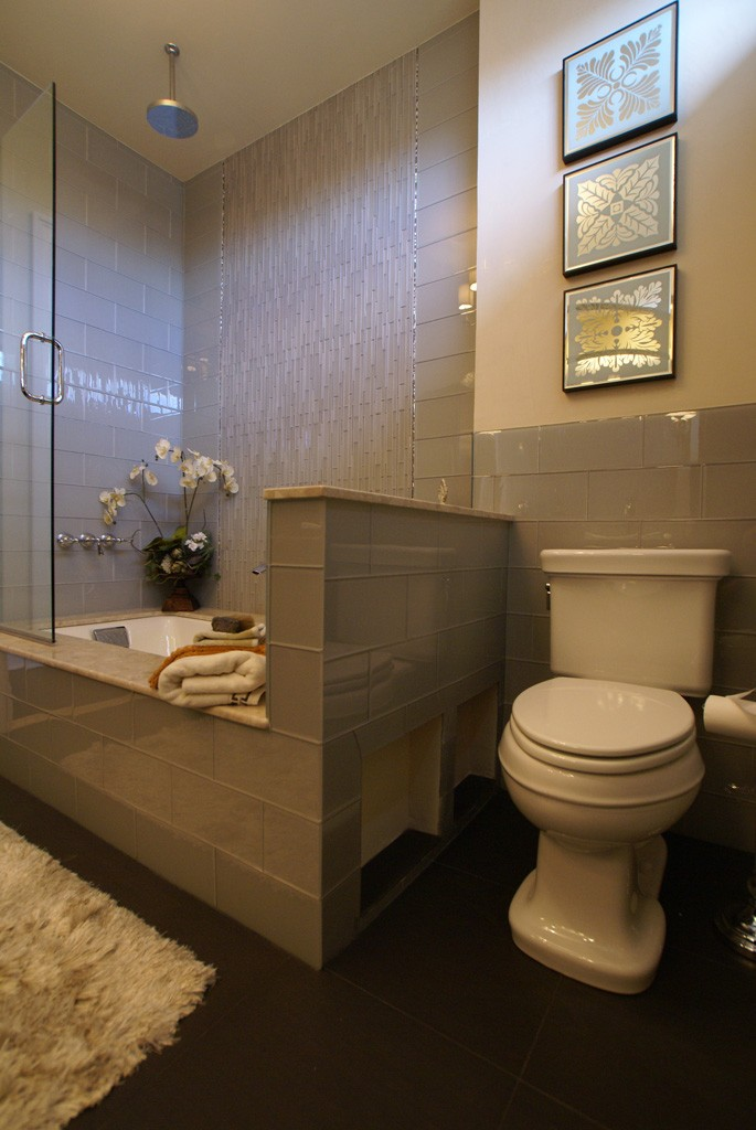 Modern bathroom remodel in monmouth county nj for Modern bathroom renovations
