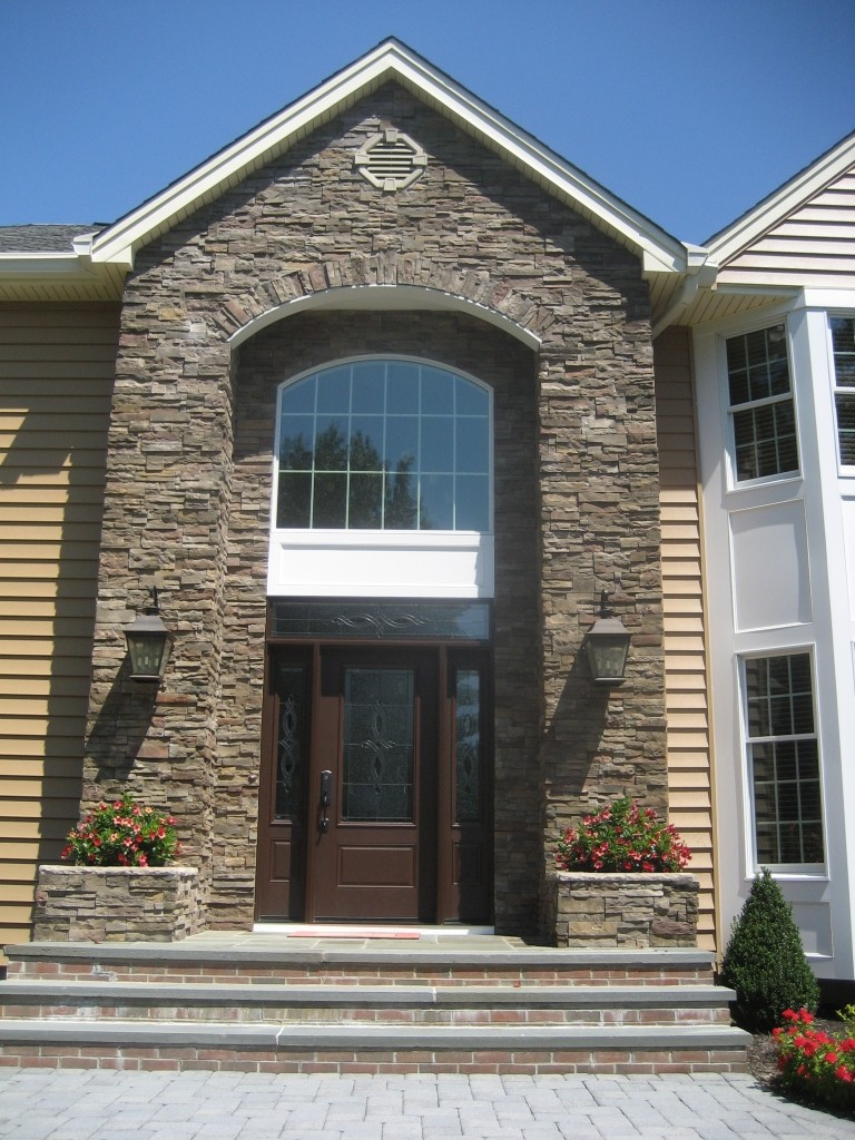 Siding And Stone Project In Monmouth County New Jersey