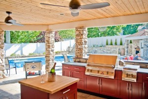 Outdoor Entertaining Area Design in Morris County NJ - Design Build Planners