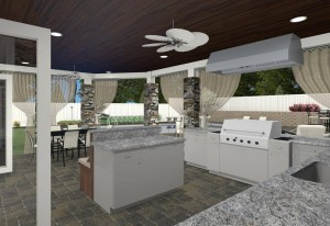 Outdoor Living Design in Morris County New Jersey - Design Build Planners