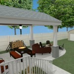 Outdoor Living Space in Union County NJ CAD (3)-Design Build Planners