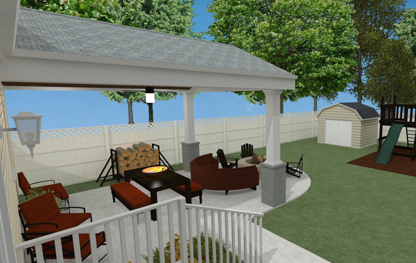 outdoor living space in union county nj design build pros