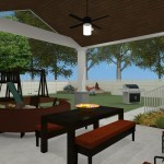Outdoor Living Space in Union County NJ CAD (4)-Design Build Planners